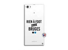 Coque Sony Xperia Z1 Compact Rien A Foot Allez Bruges