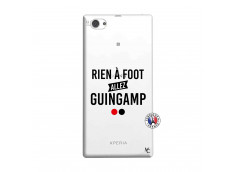 Coque Sony Xperia Z1 Compact Rien A Foot Allez Guingamp