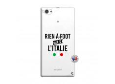 Coque Sony Xperia Z1 Compact Rien A Foot Allez L'Italie