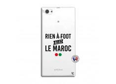Coque Sony Xperia Z1 Compact Rien A Foot Allez Le Maroc