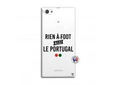 Coque Sony Xperia Z1 Compact Rien A Foot Allez Le Portugal