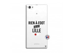 Coque Sony Xperia Z1 Compact Rien A Foot Allez Lille