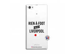 Coque Sony Xperia Z1 Compact Rien A Foot Allez Liverpool