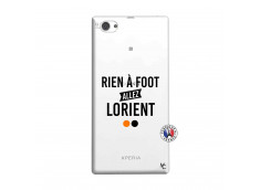 Coque Sony Xperia Z1 Compact Rien A Foot Allez Lorient