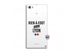 Coque Sony Xperia Z1 Compact Rien A Foot Allez Lyon