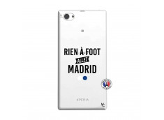 Coque Sony Xperia Z1 Compact Rien A Foot Allez Madrid