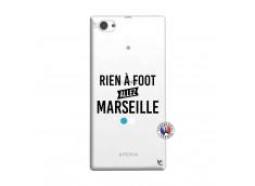 Coque Sony Xperia Z1 Compact Rien A Foot Allez Marseille