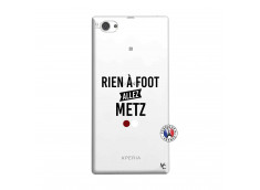 Coque Sony Xperia Z1 Compact Rien A Foot Allez Metz