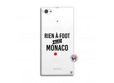 Coque Sony Xperia Z1 Compact Rien A Foot Allez Monaco