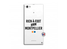 Coque Sony Xperia Z1 Compact Rien A Foot Allez Montpellier