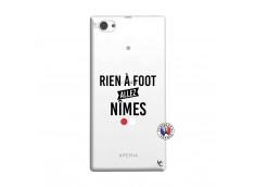 Coque Sony Xperia Z1 Compact Rien A Foot Allez Nimes