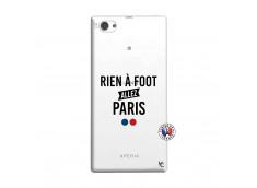 Coque Sony Xperia Z1 Compact Rien A Foot Allez Paris