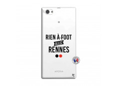 Coque Sony Xperia Z1 Compact Rien A Foot Allez Rennes