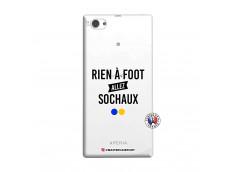 Coque Sony Xperia Z1 Compact Rien A Foot Allez Sochaux