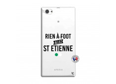 Coque Sony Xperia Z1 Compact Rien A Foot Allez St Etienne