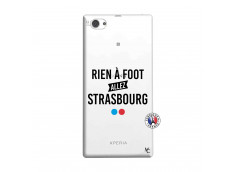 Coque Sony Xperia Z1 Compact Rien A Foot Allez Strasbourg