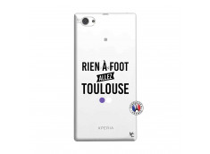 Coque Sony Xperia Z1 Compact Rien A Foot Allez Toulouse