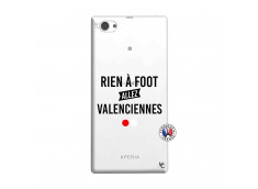Coque Sony Xperia Z1 Compact Rien A Foot Allez Valenciennes