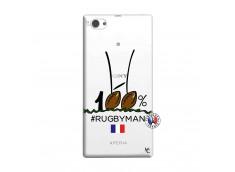 Coque Sony Xperia Z1 Compact 100 % Rugbyman Entre les Poteaux