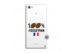 Coque Sony Xperia Z1 Compact 100% Rugbyman