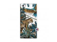 Coque Sony Xperia Z1 Compact Leopard Jungle