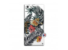 Coque Sony Xperia Z1 Compact Leopard Tree