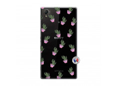 Coque Sony Xperia Z1 Cactus Pattern