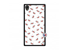 Coque Sony Xperia Z1 Cartoon Heart Noir