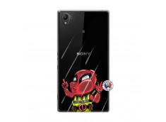 Coque Sony Xperia Z1 Dead Gilet Jaune Impact