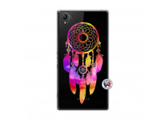 Coque Sony Xperia Z1 Dreamcatcher Rainbow Feathers