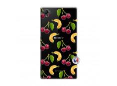 Coque Sony Xperia Z1 Hey Cherry, j'ai la Banane