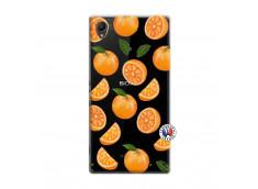 Coque Sony Xperia Z1 Orange Gina