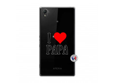 Coque Sony Xperia Z1 I Love Papa