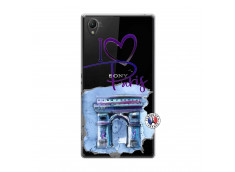 Coque Sony Xperia Z1 I Love Paris Arc Triomphe