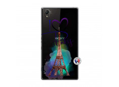 Coque Sony Xperia Z1 I Love Paris