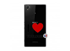 Coque Sony Xperia Z1 I Love Toulouse