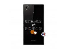 Coque Sony Xperia Z1 Je m'en bats Les Noix De Coco