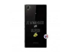 Coque Sony Xperia Z1 Je M En Bas Les Olives