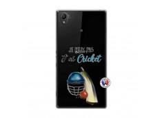 Coque Sony Xperia Z1 Je peux pas j'ai cricket