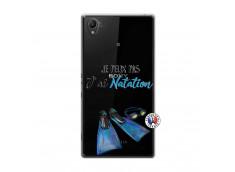 Coque Sony Xperia Z1 Je Peux Pas J Ai Natation