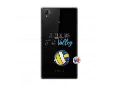 Coque Sony Xperia Z1 Je Peux Pas J Ai Volley