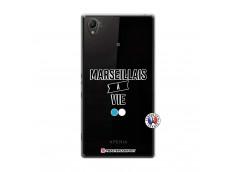 Coque Sony Xperia Z1 Marseillais à Vie