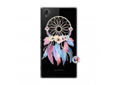 Coque Sony Xperia Z1 Multicolor Watercolor Floral Dreamcatcher