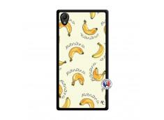 Coque Sony Xperia Z1 Sorbet Banana Split Noir