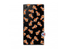Coque Sony Xperia Z1 Petits Poissons Clown