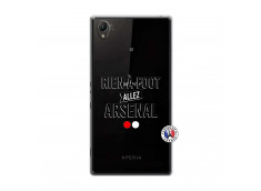 Coque Sony Xperia Z1 Rien A Foot Allez Arsenal