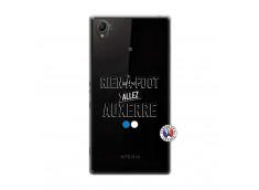 Coque Sony Xperia Z1 Rien A Foot Allez Auxerre