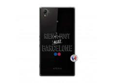 Coque Sony Xperia Z1 Rien A Foot Allez Barcelone