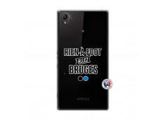 Coque Sony Xperia Z1 Rien A Foot Allez Bruges