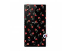 Coque Sony Xperia Z1 Rose Pattern